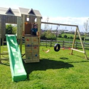 Kids climbing frames