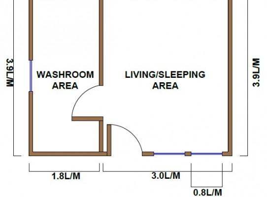 Garden Rooms plan