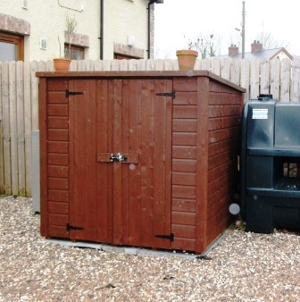 Garden Sheds Ni log store garden sheds ni - uk - ireland - whitethorn tp
