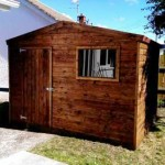 Heavy duty Garden Shed with one window