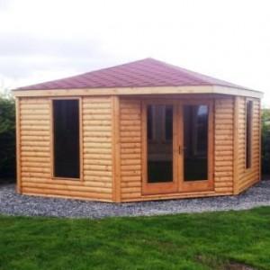 log summer houses