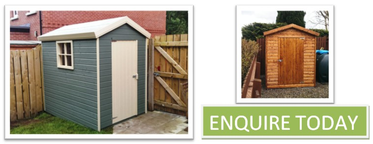 garden sheds enquire