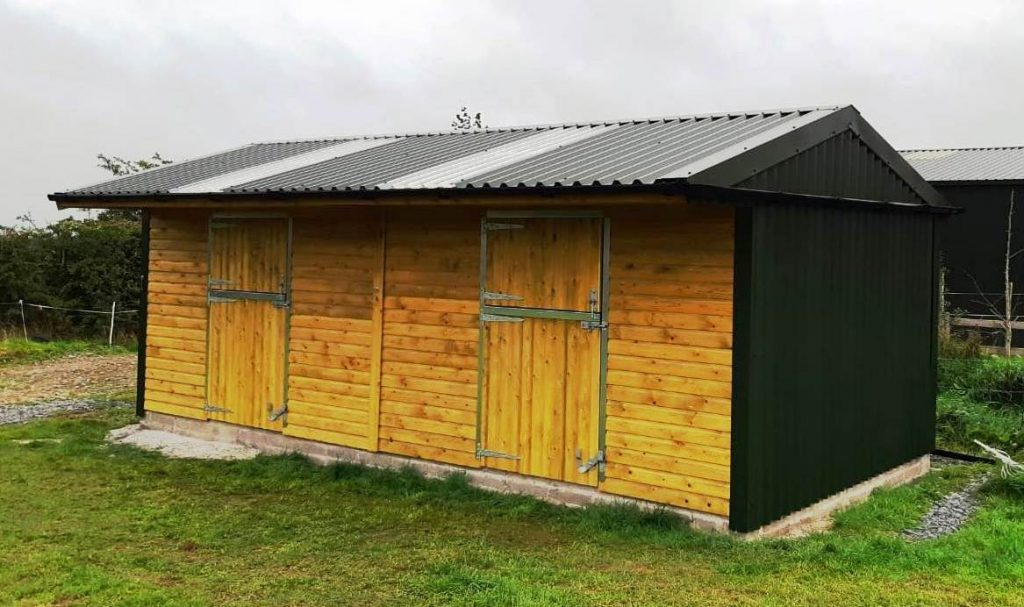 maintenance free stables ireland