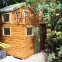 Kid's playhouses with veranda