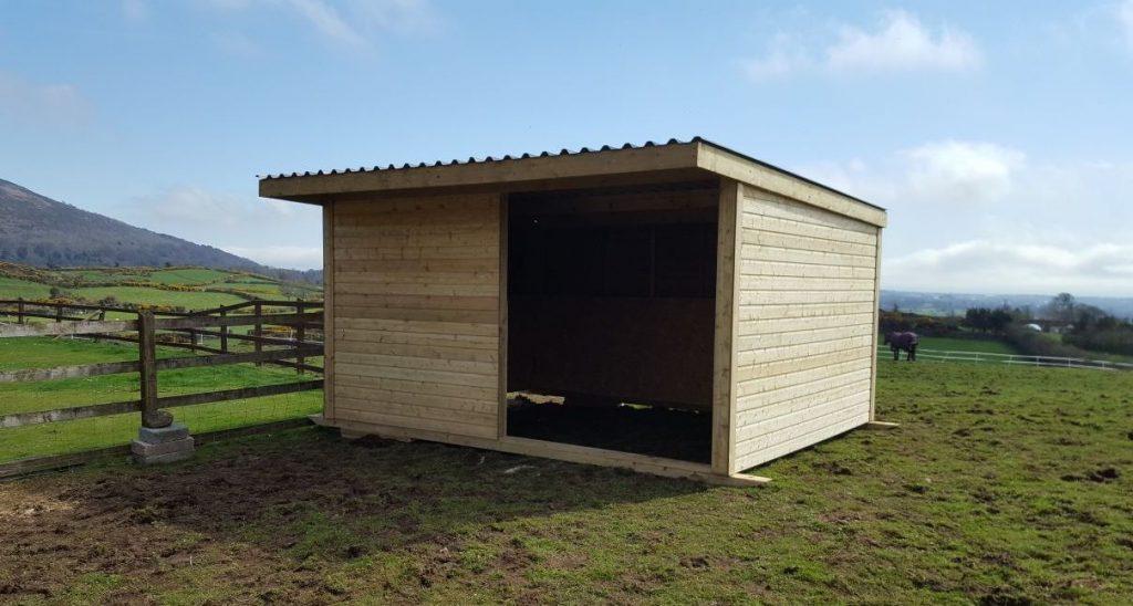 field shelters ireland