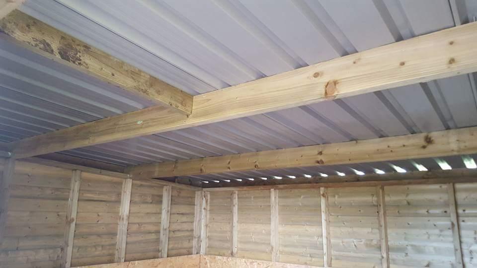 shelter roof interior ireland