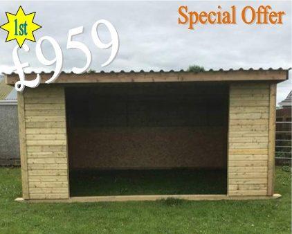 field shelter offer ireland