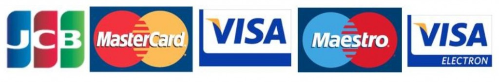 log cabins credit card payment options NI