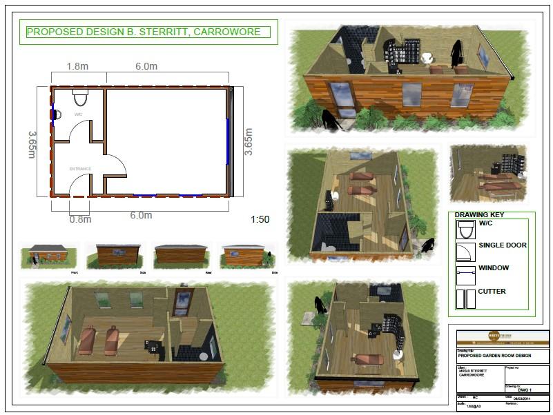 Garden Room 3D Design