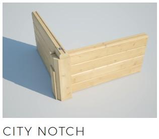 log cabins city notch joint