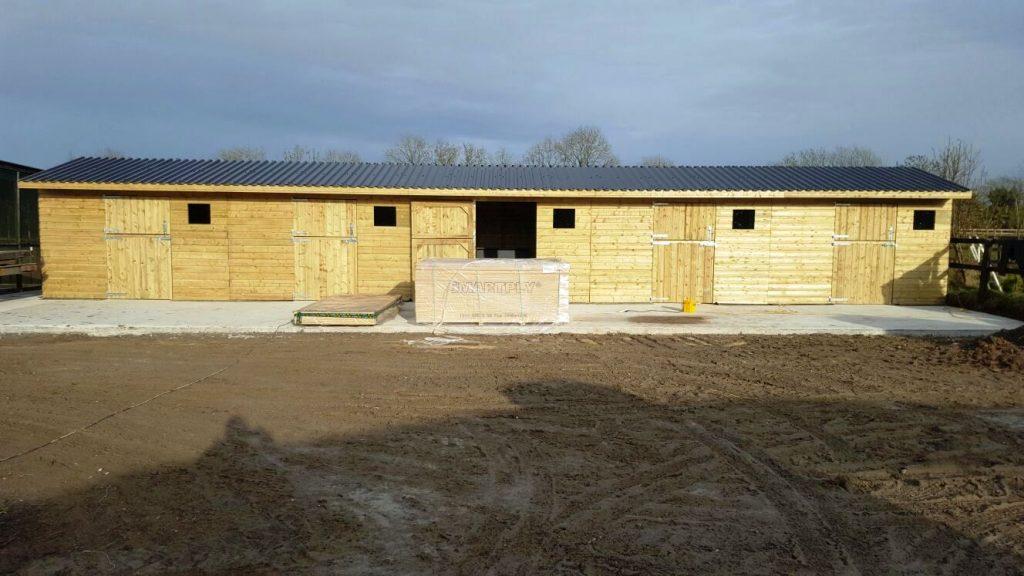 stable yard ireland