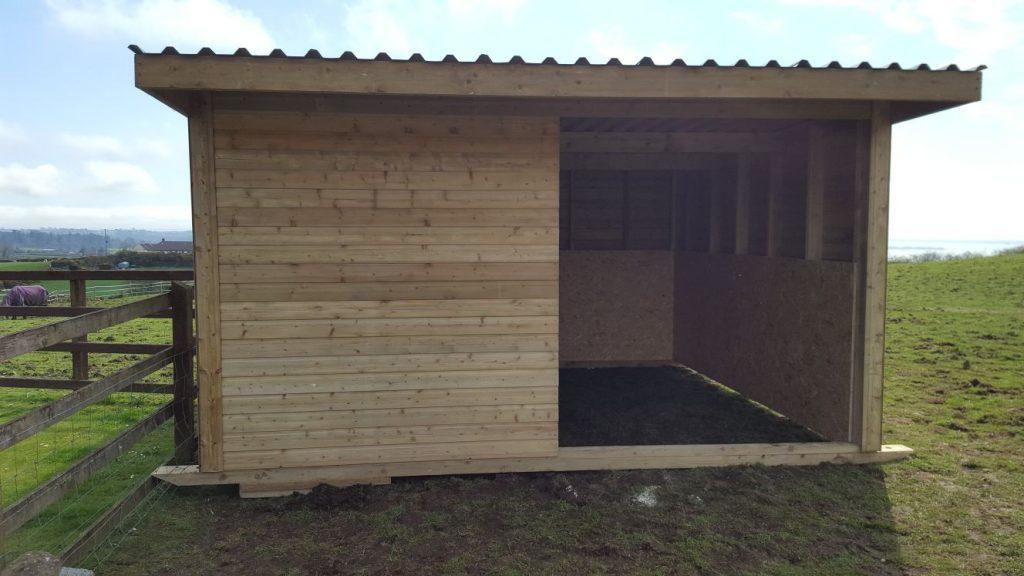 timber shelter ireland